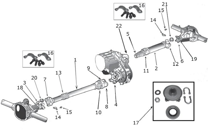 2002 jeep liberty parts diagram electric motor kayak cherokee xj drive shaft 84 01 quadratec if you are looking for oem or want to upgrade your we have everything that will need