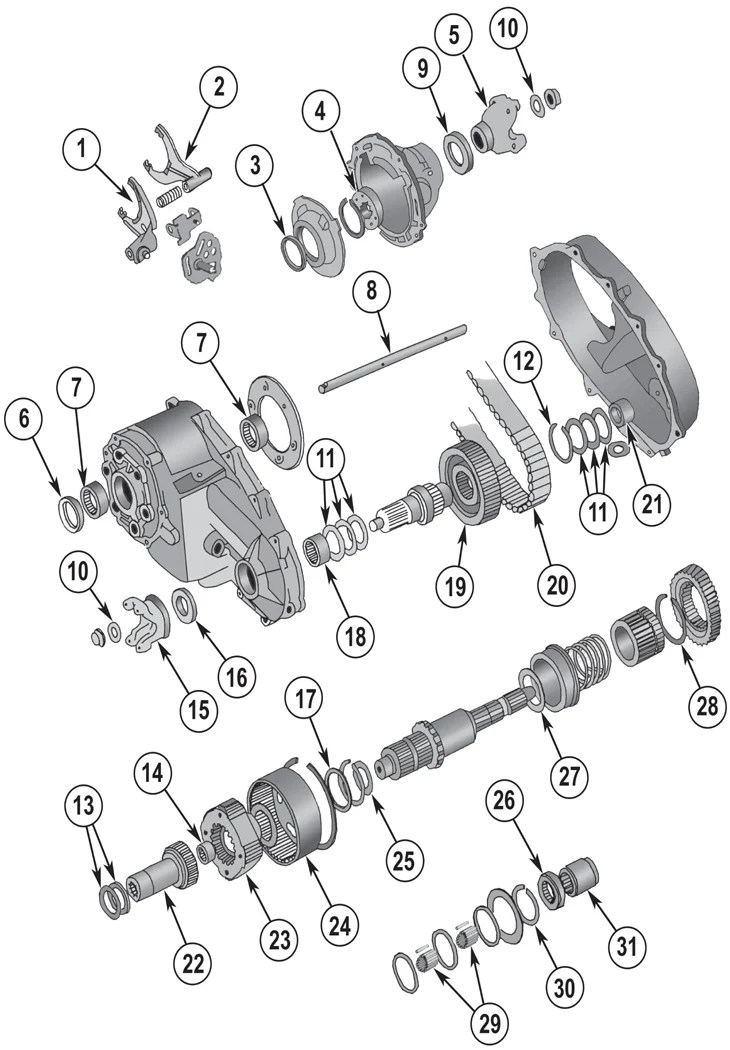Np246 Transfer Case Diagram, Np246, Get Free Image About