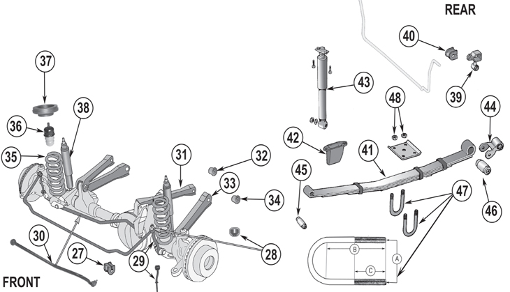 Wiring Diagram: 26 2000 Jeep Cherokee Front Suspension Diagram