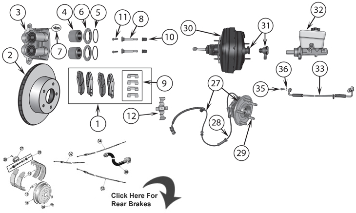 Service manual [2006 Jaguar Xj Brake Replacement System