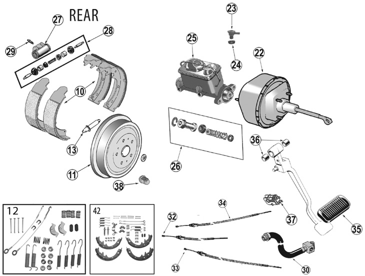 Service manual [1994 Jeep Wrangler Rear Break Replacement
