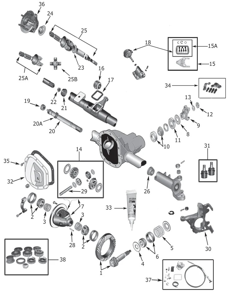 auto mobile front end diagram ecu wiring toyota jeep wrangler yj dana 30 axle parts quadratec why trust anyone else when the experts at can get you up and running with quality fast shipping