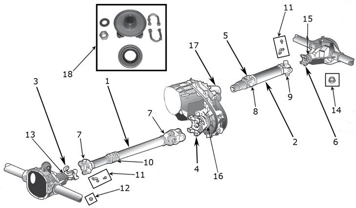 jeep parts diagram