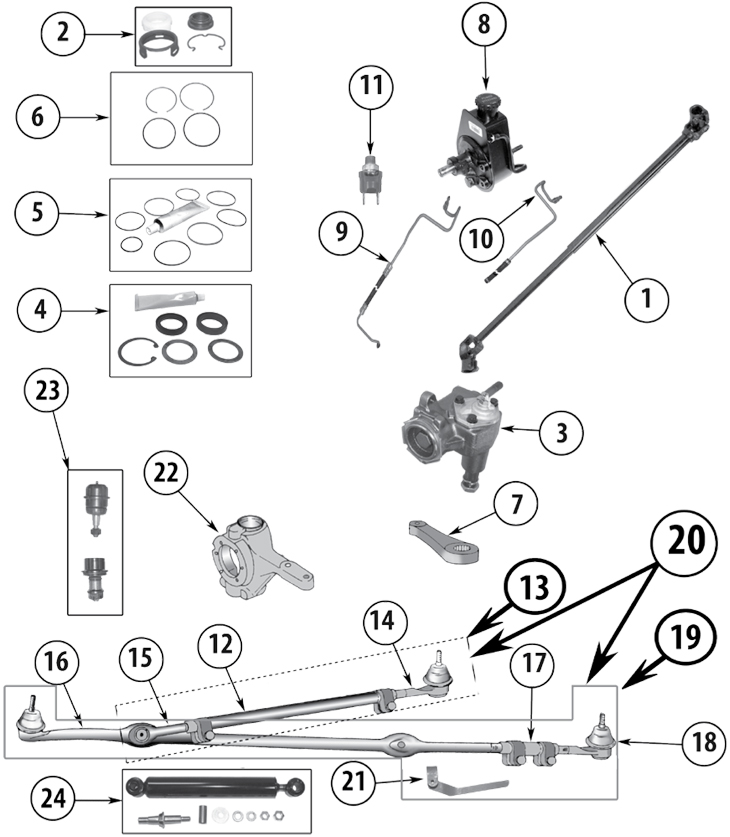 Oem Jeep Wrangler Steering Parts Diagram • Wiring Diagram