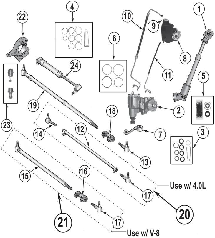 2005 jeep grand cherokee parts diagram rj12 wiring australia 96 suspension schematic zj steering 93 98 quadratec jk rear