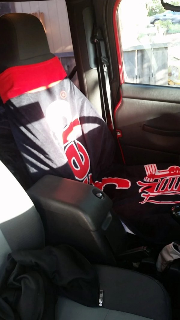 Insync Jeep Logo Towel 2 Seat Cover Quadratec