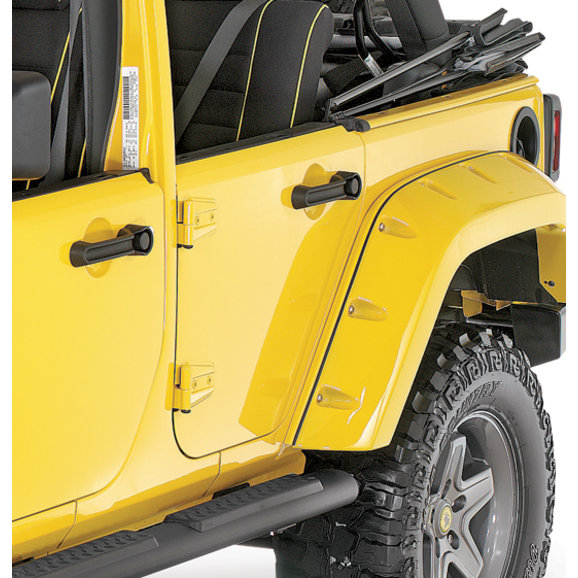 Mopar Rear Half Steel Door Kit For 07 16 Jeep Wrangler