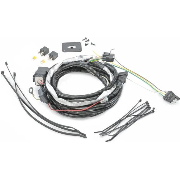 jeep wiring harness for flat towing