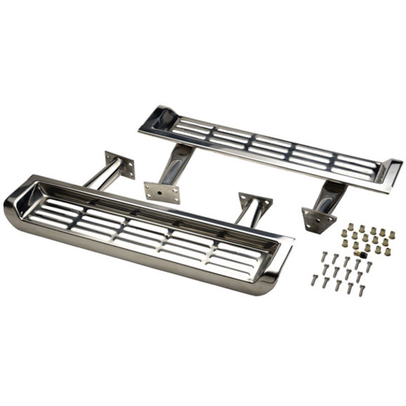 Kentrol 30491 Stainless OE Side Steps for 97-00 Jeep