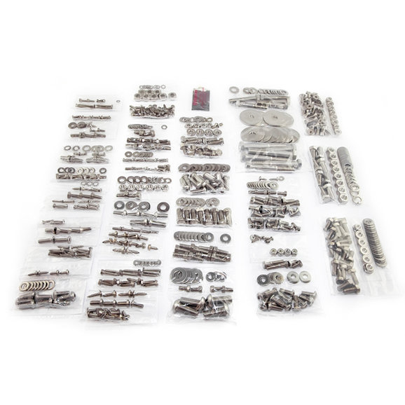 OMIX-ADA 12215.12 Body Fastener Kit with Soft Top