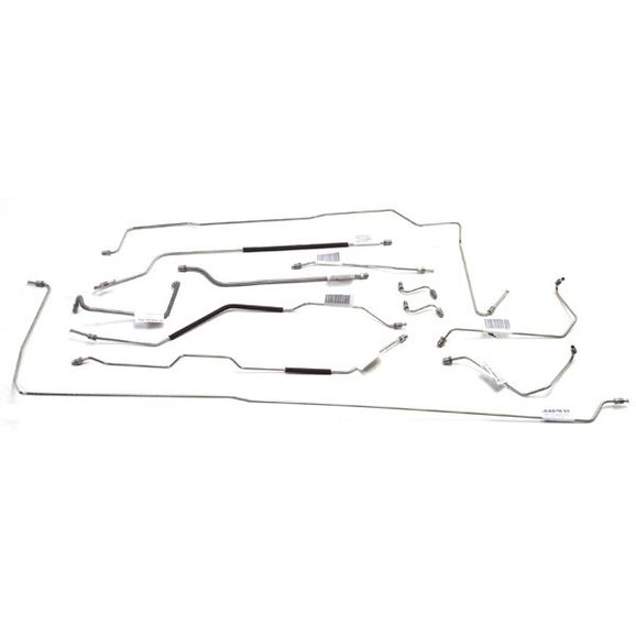 OMIX-ADA 16737.31 Stainless Steel Brake Line Set for 69-71
