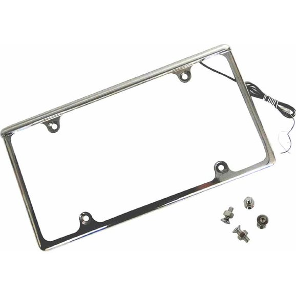 GenRight Off Road LPF-9001 Off Road Lighted License Plate