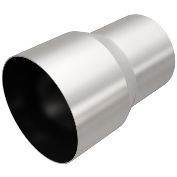 magnaflow performance 4 to 5 exhaust tip adapter in stainless steel