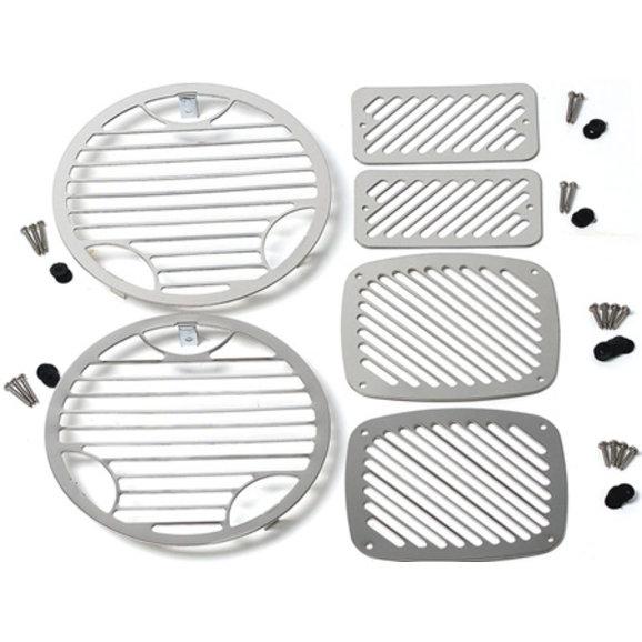 Kentrol 30493 Stainless Steel Billet Style Light Kit for