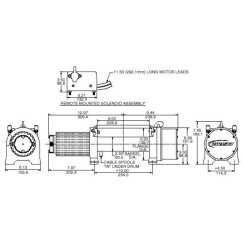 Ramsey Winch Solenoid Wiring Diagram Tj Bi Directional Motor Toyskids Co 4 Post 110020 Wonder Series Wound