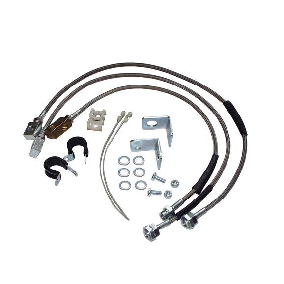 Crown Automotive RT31015 Stainless Steel Brake Hose Kit