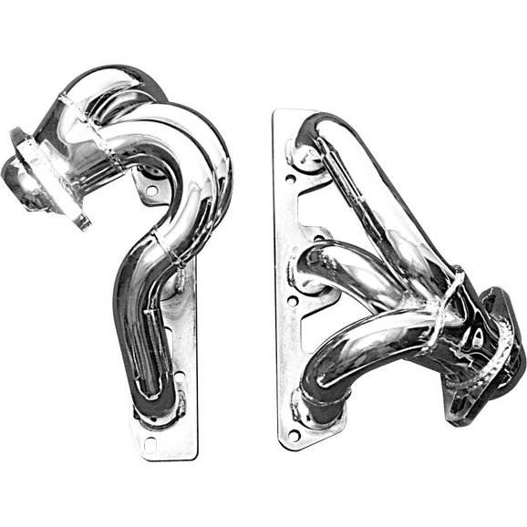 Gibson GP403 Nickel Chrome Plated Headers for 07-11 Jeep