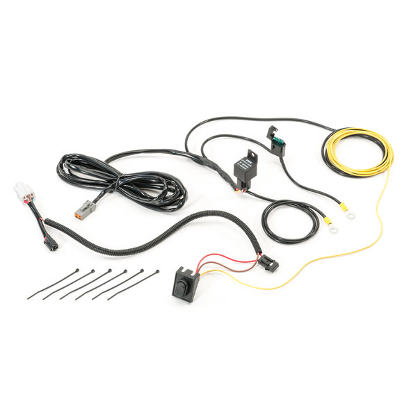 Quadratec 1 Circuit Auxiliary Light Harness for 20