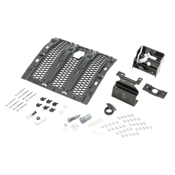 Mopar 82215137AC Hood Lock Kit for 18-21 Jeep Wrangler JL