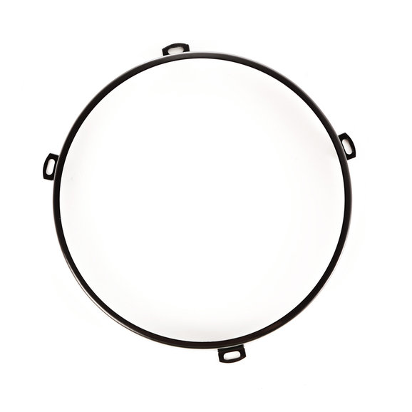 OMIX-ADA 12420.04 Black Headlight Retainer Ring for 07-18