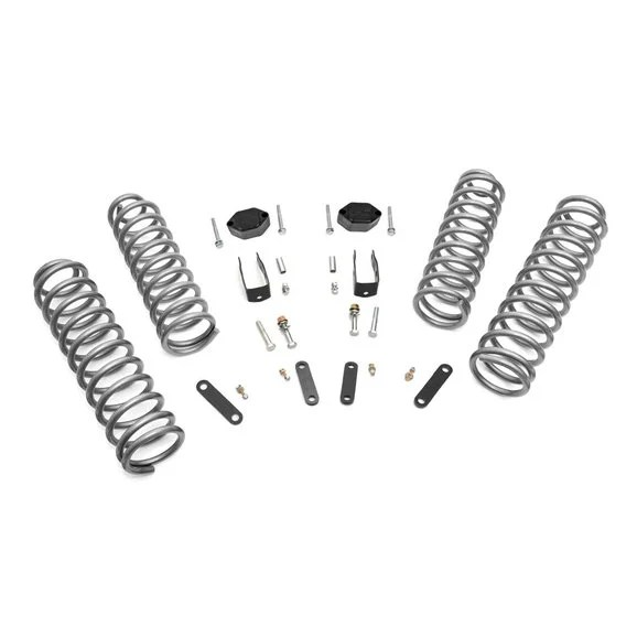 Rough Country 2.5in Suspension Lift Kit for 07-18 Jeep