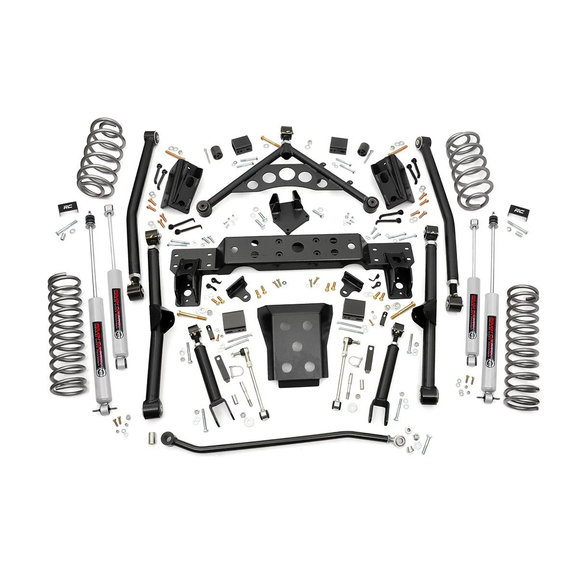 Rough Country 90820 4in Long Arm Suspension Lift Kit for