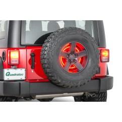 Third Brake Light Law Bmw E60 Wiring Diagram Rugged Ridge 11585 04 3rd Led Ring For 87 18 Jeep Wrangler Yj Tj Jk Quadratec