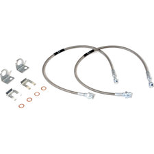 Rubicon Express RE1515 Rear Stainless Steel Brake Line for