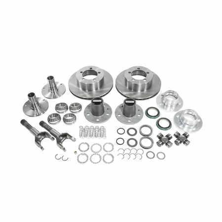 Alloy USA 12195 Manual Locking Hub Conversion Kit for 97