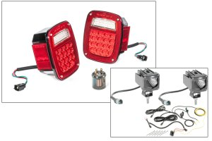 Quadratec LED Tail Light Kit & 2