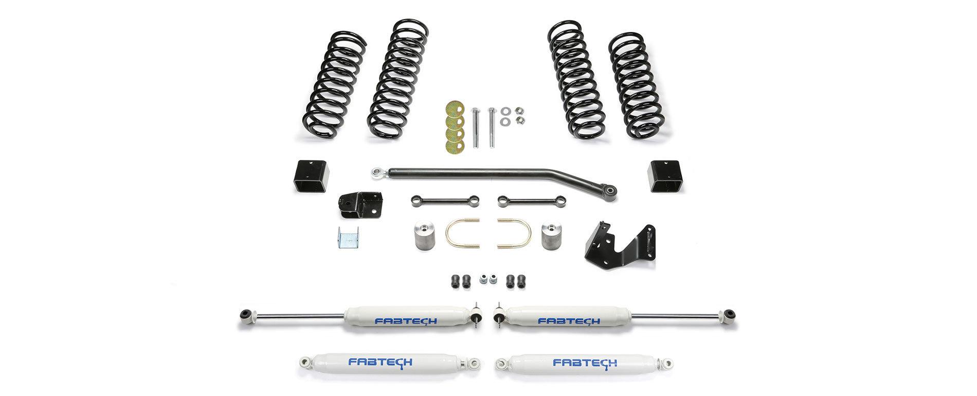 Fabtech 3in Sport Ii Lift Kits For 07 18 Jeep Wrangler Jk