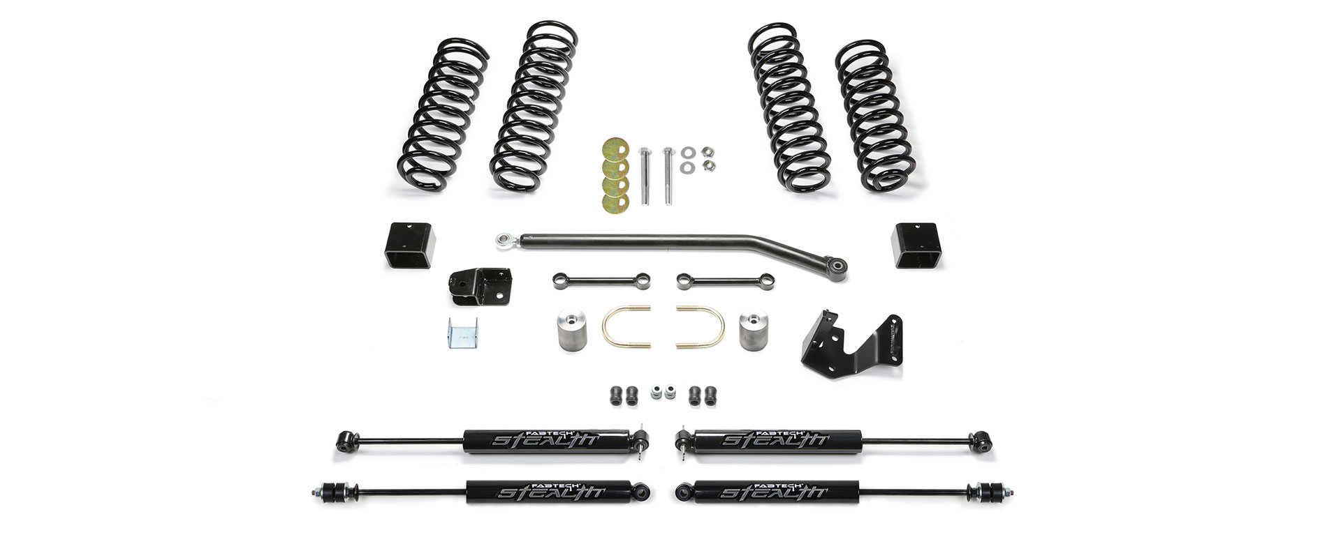Fabtech 3in Sport II Lift Kits for 07-17 Jeep® Wrangler