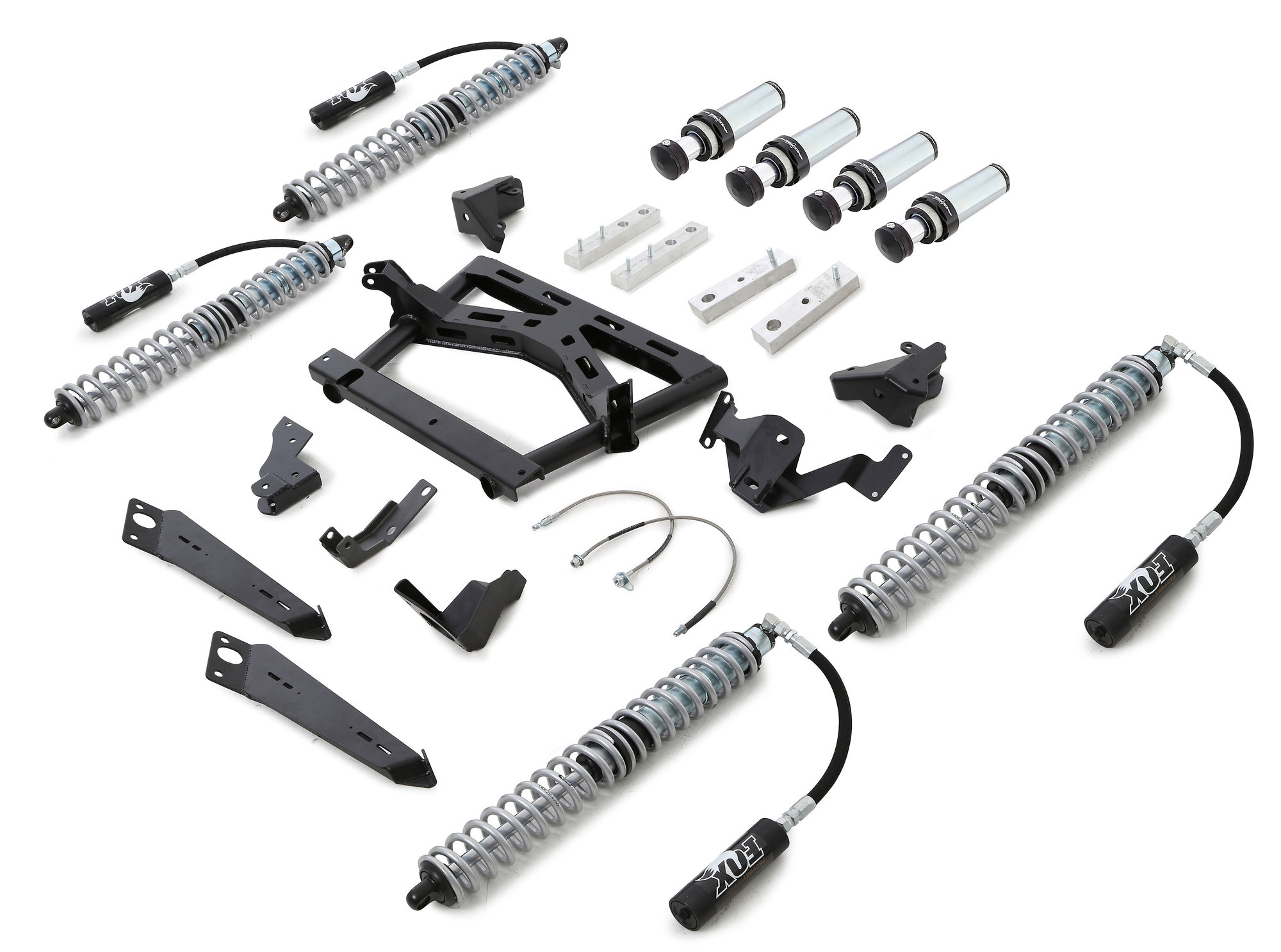 Rubicon Express Jk004cc Front Amp Rear Coilover Upgrade Kit