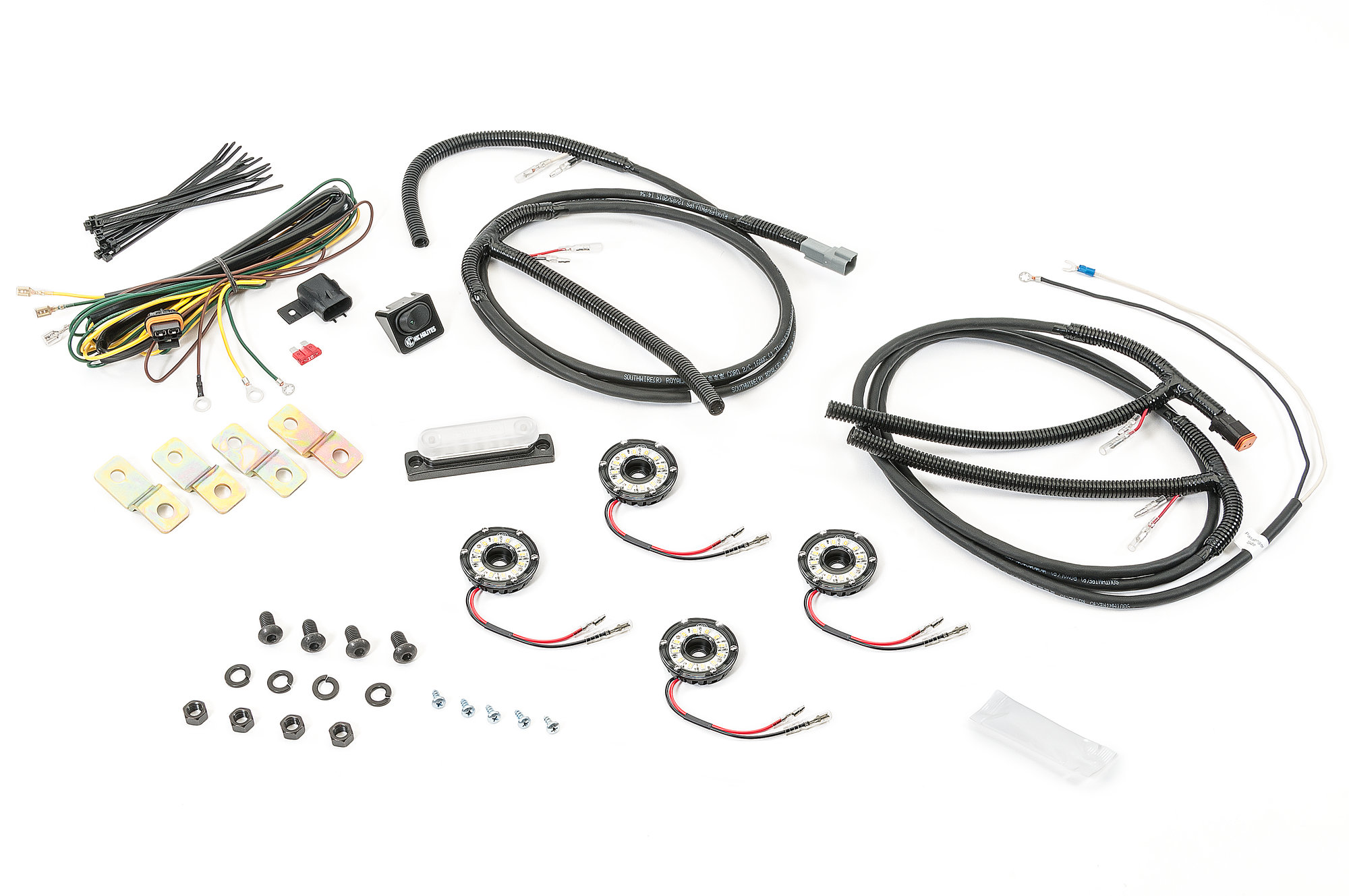 Kc Hilites Cyclone Led Rock Light Kit For 07 18 Jeep
