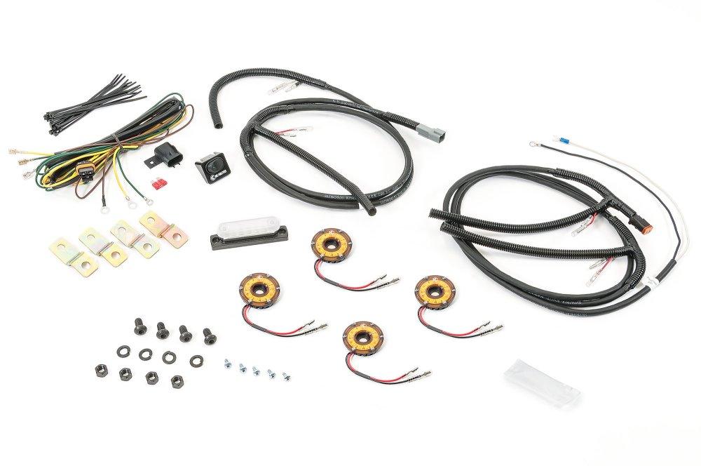 medium resolution of kc hilites cyclone led rock light kit for 07 18 jeep wrangler jk quadratec