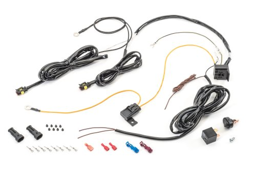small resolution of  led light wiring harness with waterproof 4 pin connectors the quadratec difference