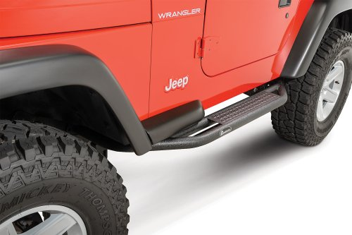 small resolution of quadratec qrc side armor with step for 87 06 jeep wrangler yj tj
