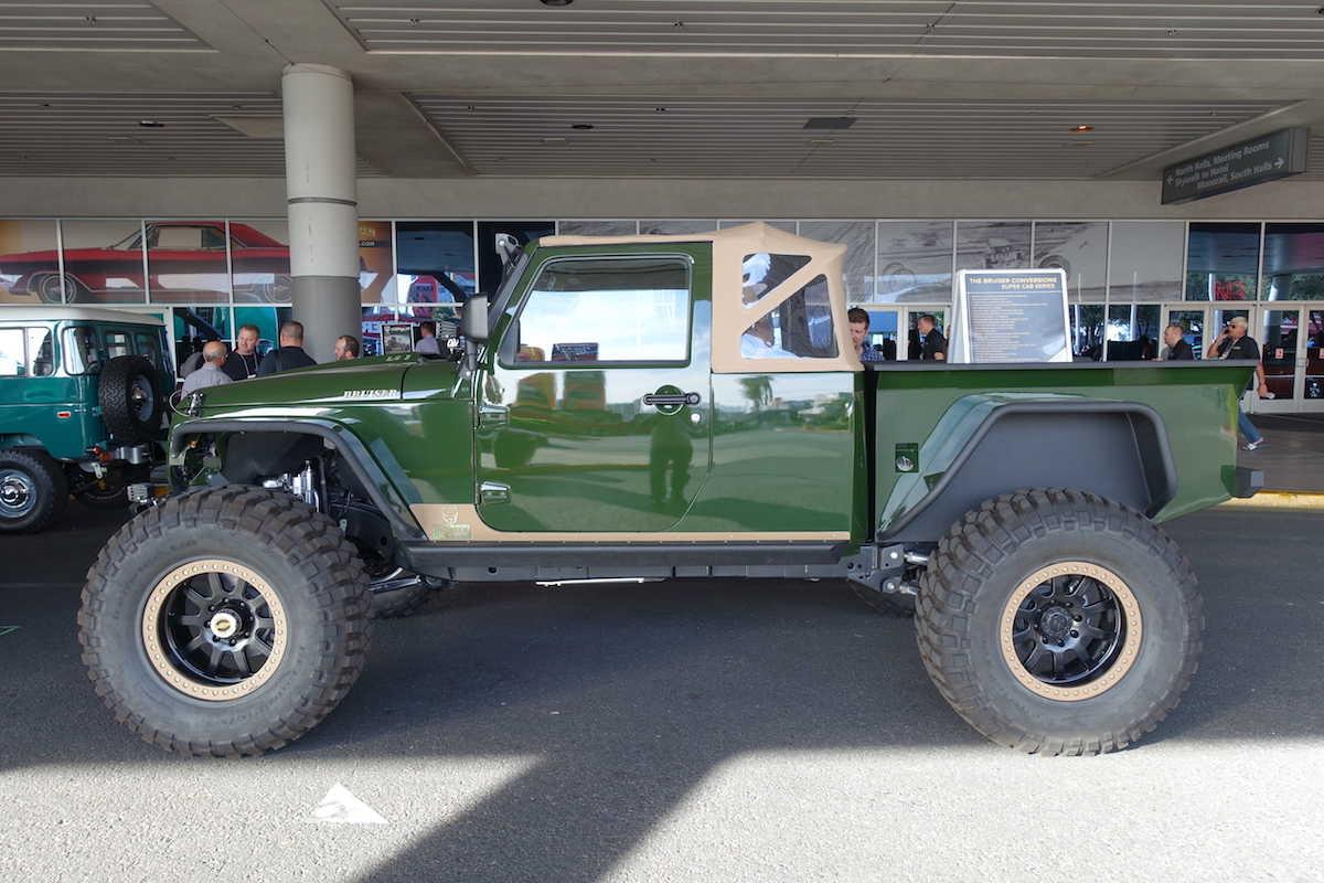 The Bruiser Conversions Super Cab Series Jeep Pickup