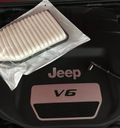 how to replace a jeep jk wrangler air filter [ 2000 x 1500 Pixel ]