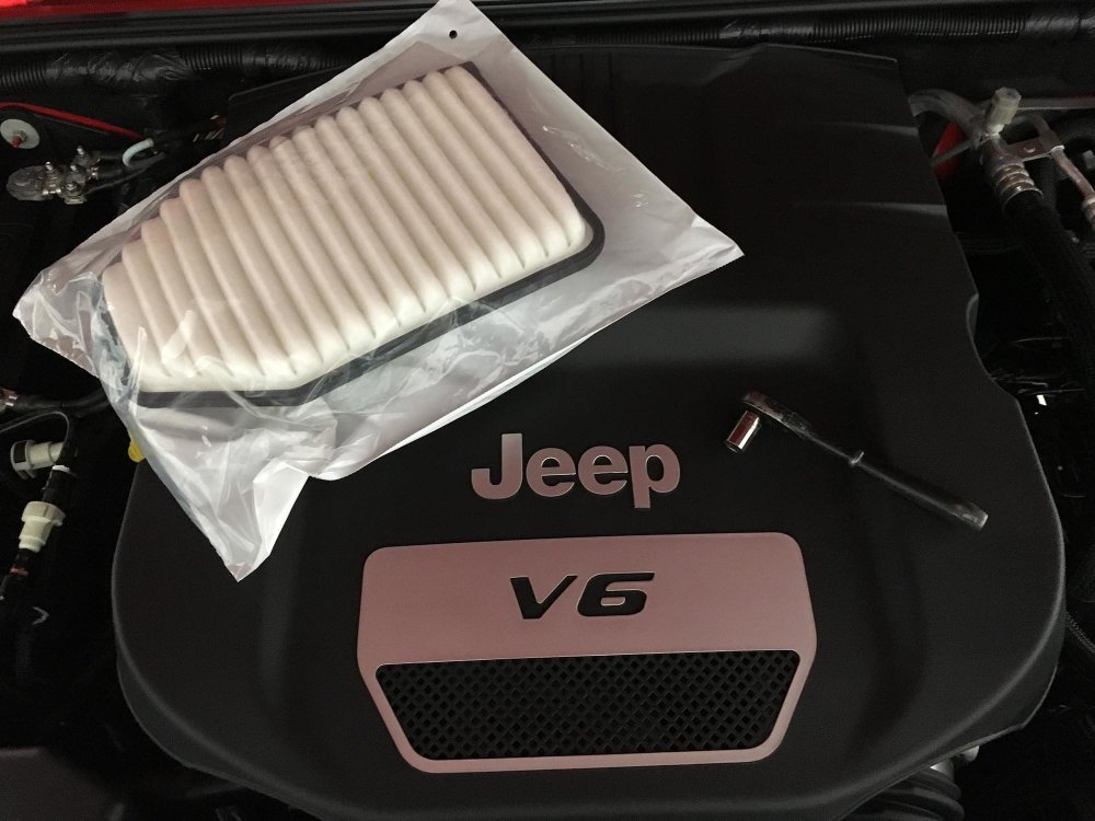 medium resolution of how to replace a jeep jk wrangler air filter