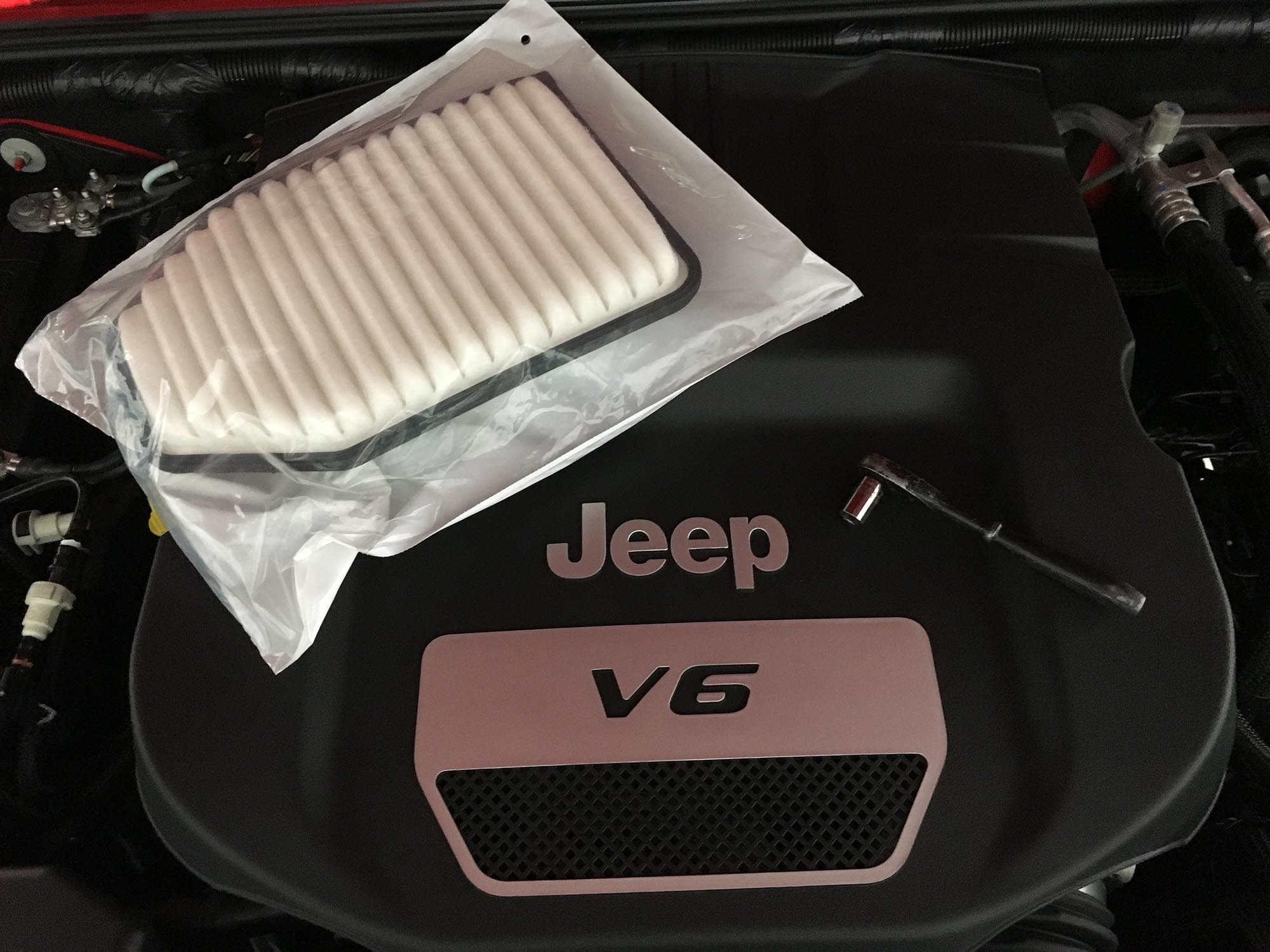 hight resolution of how to replace a jeep jk wrangler air filter