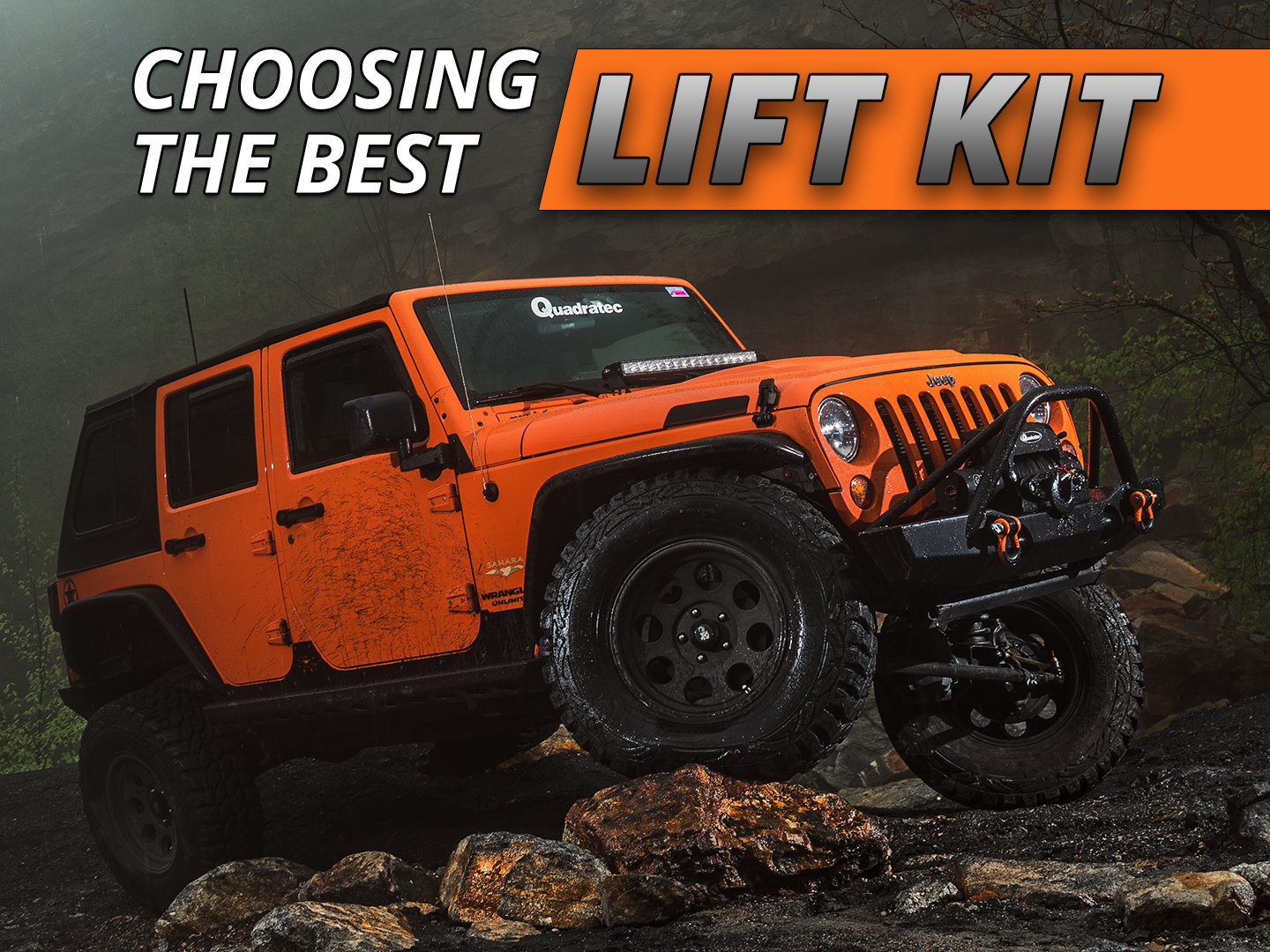 How To Choose The Best Jeep Lift Kit Quadratec