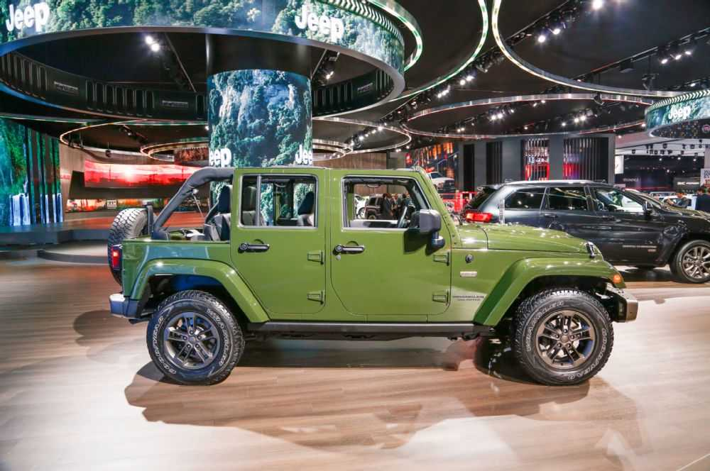 Hybrid Wrangler Announced As Fca Goes All In On Jeep
