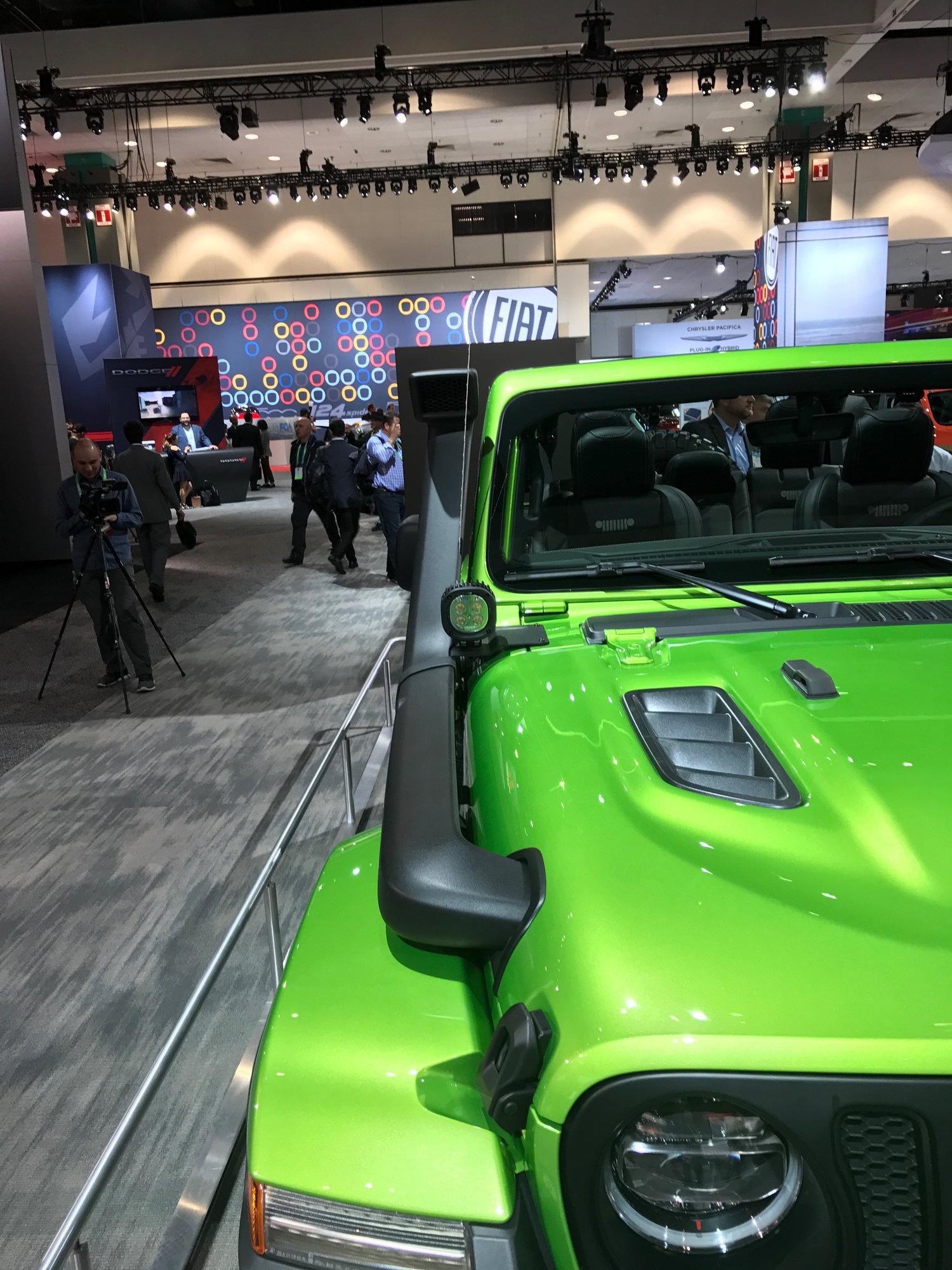 Moparmodified fourdoor 2018 Jeep Wrangler Rubicon at the