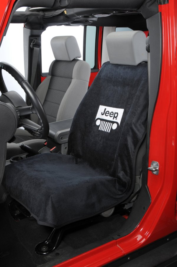 Insync Seat Armour Jeep Grille Logo Towels Quadratec