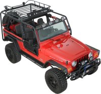 Body Armor TJ-6125 Roof Rack Base Kit for 97-06 Jeep ...