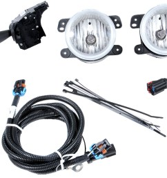 mopar 82211870 production fog light kit for 07 10 jeep wrangler jk mix the quadratec  [ 2000 x 1364 Pixel ]