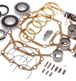 crown automotive ax5lmaskit transmission master rebuild kit for 88 02 jeep wrangler yj tj [ 2000 x 1380 Pixel ]