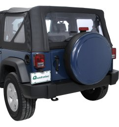 boomerang enterprises painted rigid tire cover for 07 18 jeep wrangler jk [ 1917 x 2000 Pixel ]