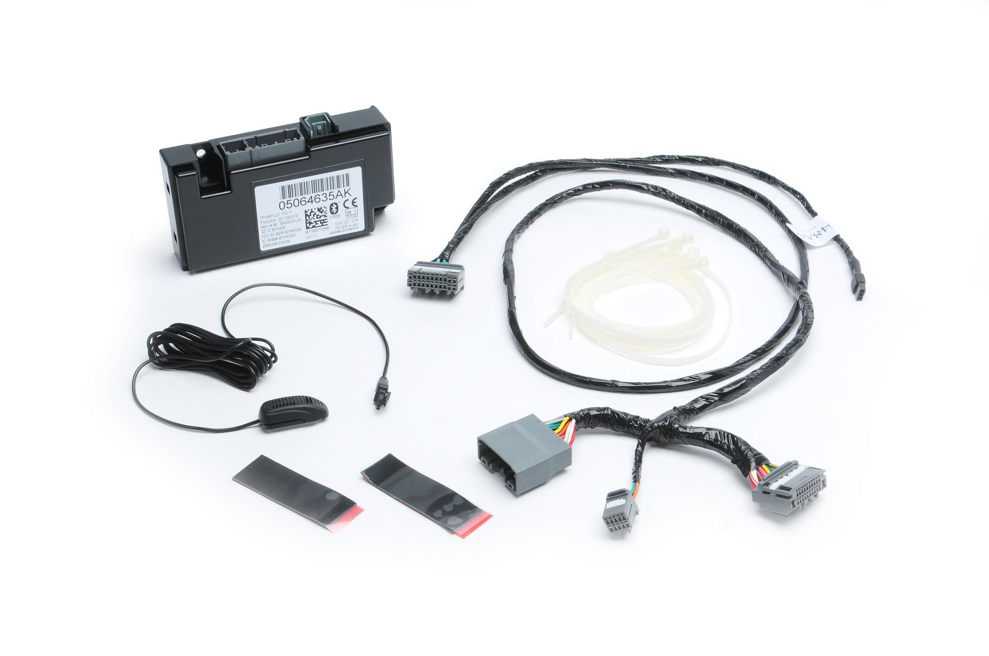 2010 jeep wrangler radio wiring diagram cinderella venn compare contrast mopar 82212159 uconnect phone kit with ipod integration for 07-12 jk, grand ...